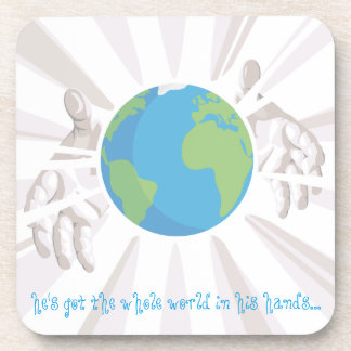 Whole World in His Hands Coaster