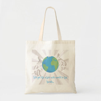 Whole World in His Hands Tote Bag