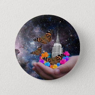 Whole World in my Hands Pinback Button