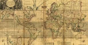 Personalize Your Own Vintage World Map Binder - Stay Organized Today ...