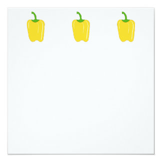 Whole Yellow Bell Pepper. Card