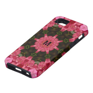 Wholeness l Pink Floral Mandala iPhone 5 Covers