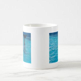 Wholphin tail wave coffee mug