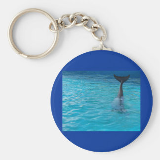 Wholphin tail wave keychains