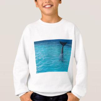 Wholphin tail wave sweatshirt