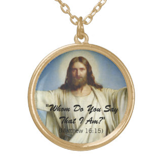 """""""Whom Do You Say That I Am"""" Custom Necklace"""