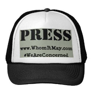 WhomItMay.com - PRESS Hat