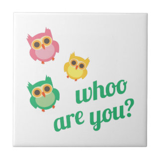 Whoo Are You? Tiles