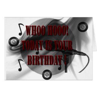 Whoo cumpleaños de Hoo Tarjeta De Felicitación