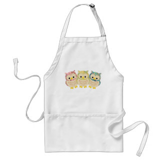Whoo likes to Cook? Adult Apron