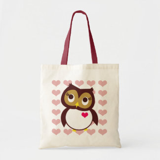 Whoo Loves You Canvas Bags