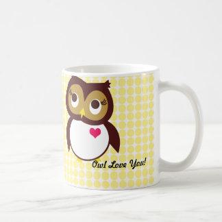 Whoo Loves You Coffee Mug