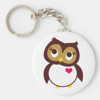 Whoo Loves You Keychains