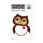 Whoo Loves You Postage