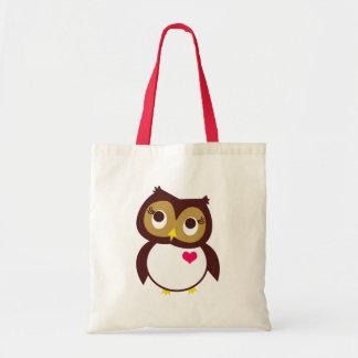 Whoo Loves You Tote Bag