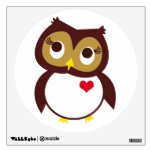 Whoo Loves You Wall Decal