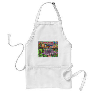 Whoo Says You Can't Be Brave? Adult Apron