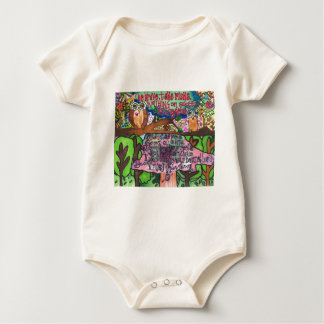 Whoo Says You Can't Be Brave? Baby Bodysuit