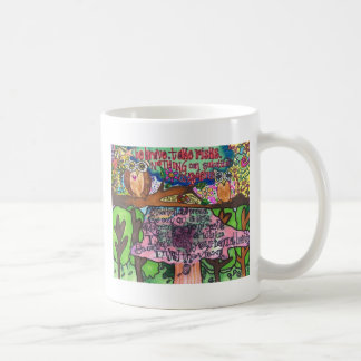 Whoo Says You Can't Be Brave? Coffee Mug