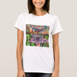 Whoo Says You Can't Be Brave? T-Shirt