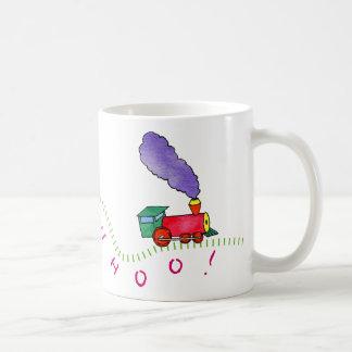 Whoo-Whoo! Train Coffee Mug