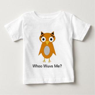 Whoo Wuvs Me? Infant T-Shirt