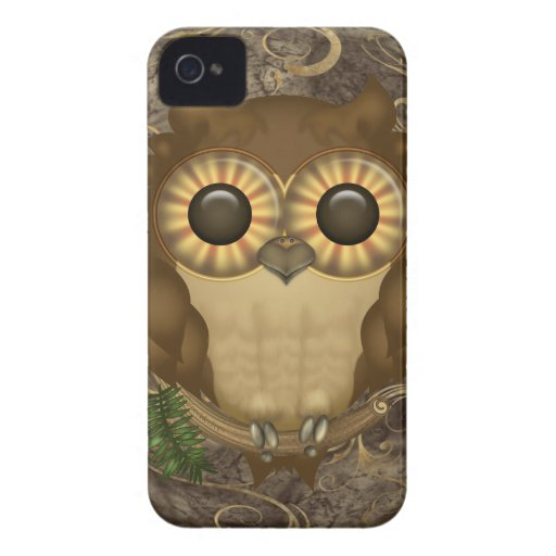 Whoolio The Cute Owl iPhone 4 Case