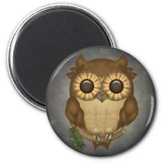 Whoolio The Cute Owl Magnets
