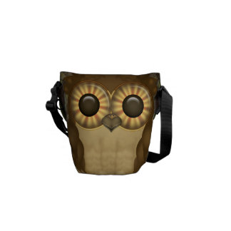 Whoolio The Cute Owl Courier Bags