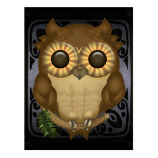 Whoolio The Cute Owl Postcard