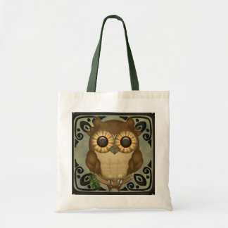 Whoolio The Cute Owl Tote Bags