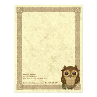 Whoolio The Cutest Owl Letterhead