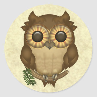 Whoolio The Cutest Owl Stickers
