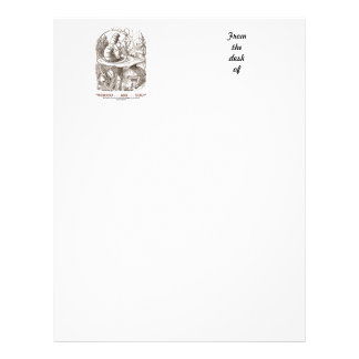 Whooo...Are...You? (Alice and the Caterpillar) Letterhead