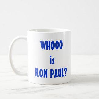 Whooo is Ron Paul? Coffee Mug