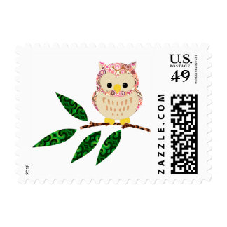 Whooo Likes a Letter? Postage