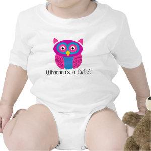 Whoooo's a Cutie? Owl Shirt