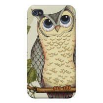 Whoooo's Talking? Cover For iPhone 4