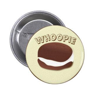 whoopie pin redondo de 2 pulgadas