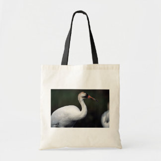Whooping Crane Canvas Bags