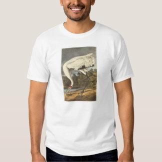 Whooping Crane by Audubon Tee Shirt