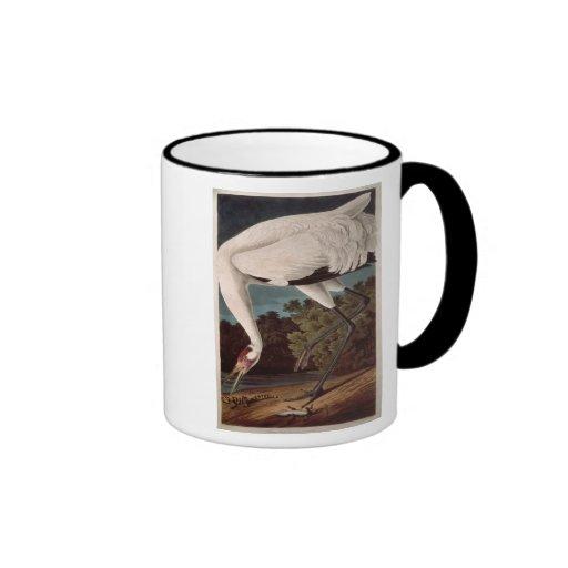 Whooping Crane, from 'Birds of America' Coffee Mug