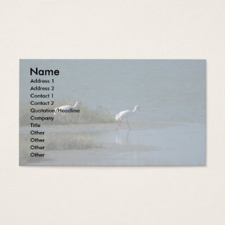 Whooping Cranes Business Card