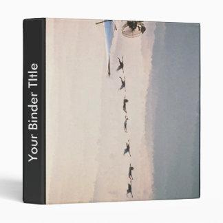 WhoopingCranesFollowUltralite Vinyl Binder