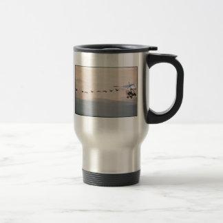 WhoopingCranesFollowUltralite Coffee Mugs