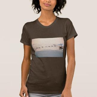WhoopingCranesFollowUltralite T Shirts