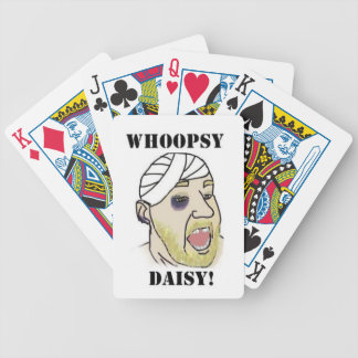 Whoopsy Daisy Bicycle Playing Cards