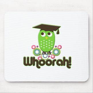 Whoorah Graduate Mouse Pad