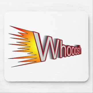 whoosh mouse pad