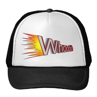 whoosh trucker hat
